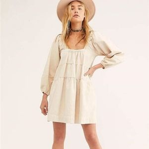 Canvas baby doll dress by Free People